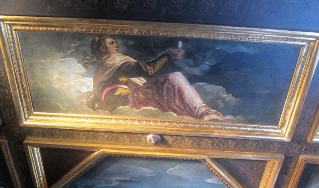 Tintoretto soffitto Palazzo Ducale