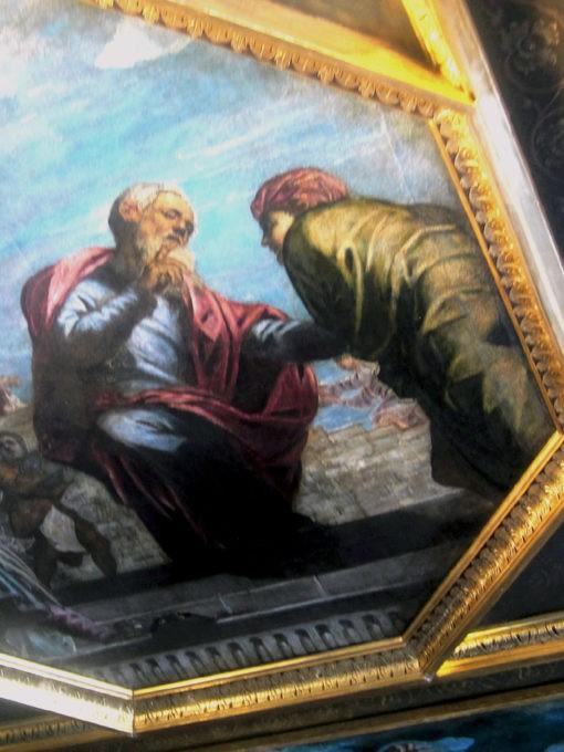 Tintoretto soffitto della Sala degli Inquisitori