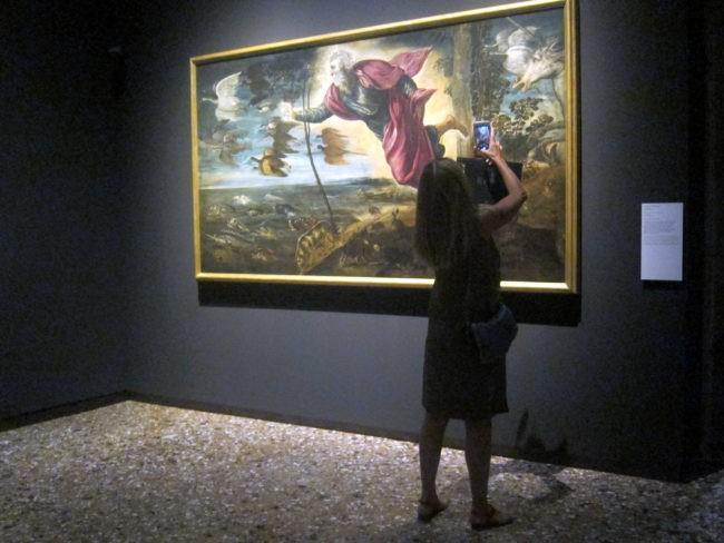 Tintoretto la Creazione degli animali