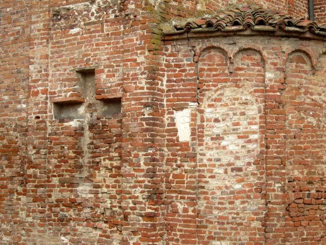 decorazioni murarie basilica di Lomello