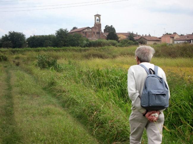 Lomello profilo chiesa di Teodolinda