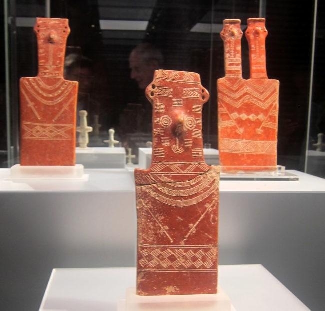 figura doppia da cipro mostra Ligabue