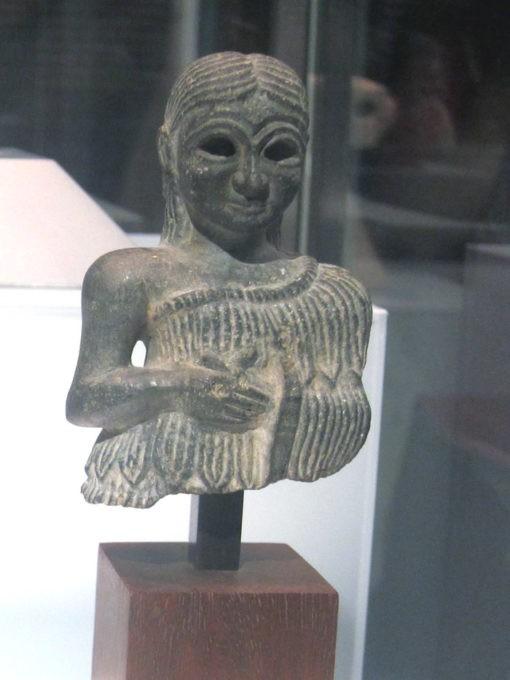 testa femminile mostra ligabue