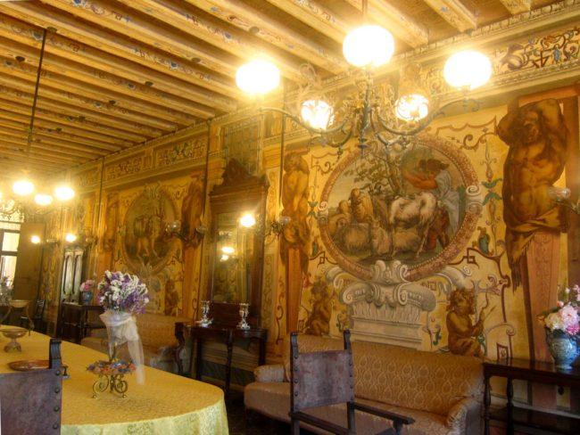 Villa Ca' Conti sala d'ingresso