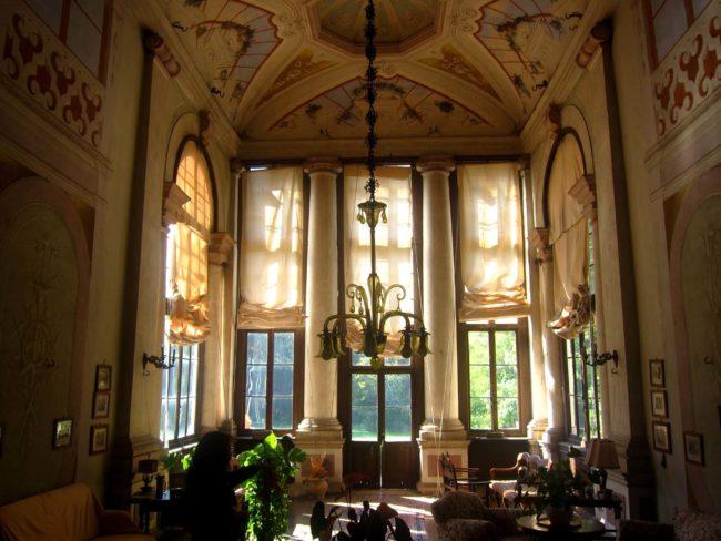 Villa Ca' Conti veranda