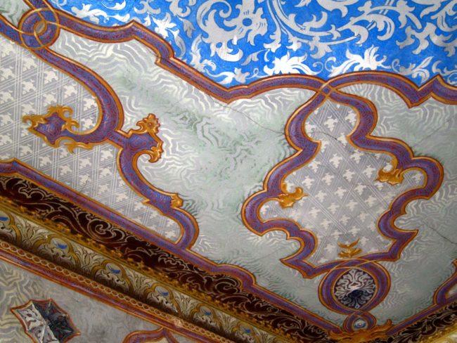 Villa Ca' Conti soffitto decorato