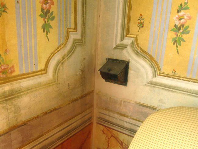 Villa Ca' Conti bocche del riscaldamento
