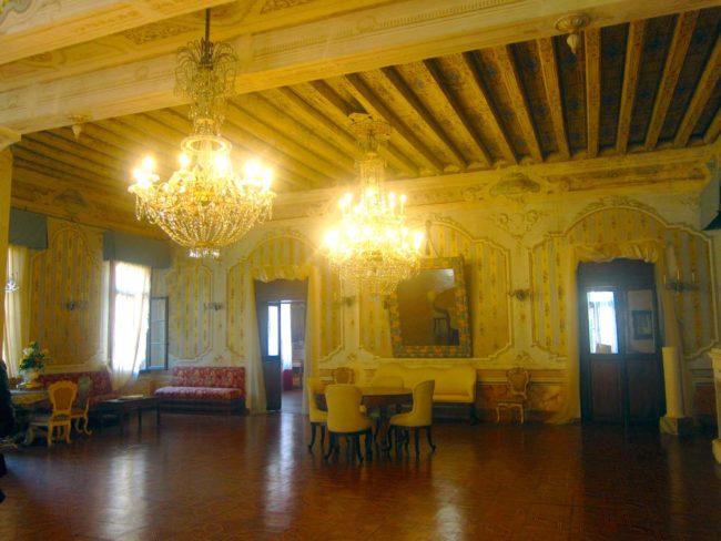 Villa Ca' Conti salone