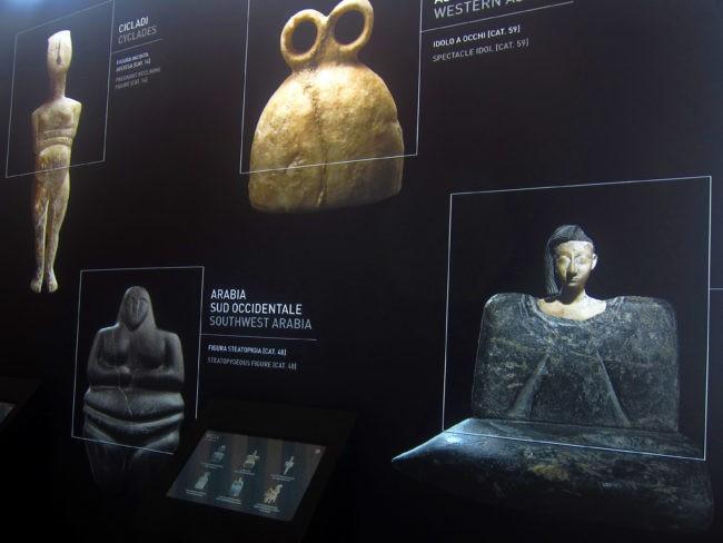 mostra idoli fondazione ligabue