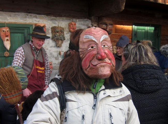 maschera carnevale di sappada