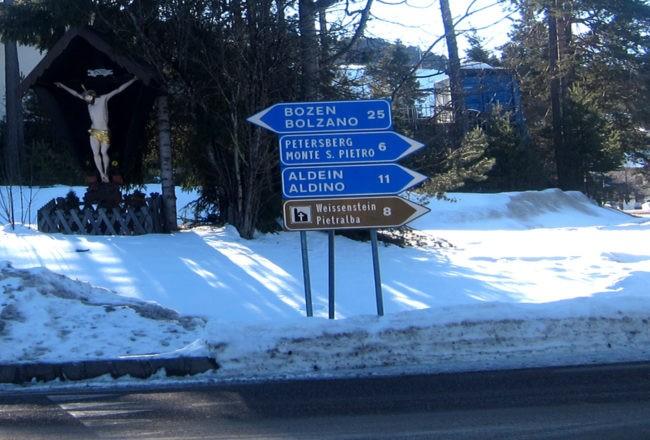 via per Pietralba