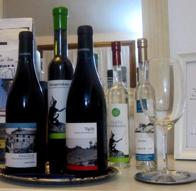 produzione vini cà du ferrà