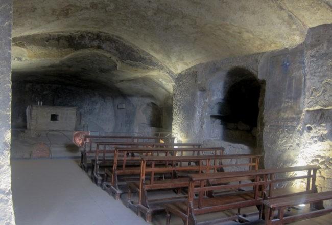 chiesa ipogea catacombe di san gennaro