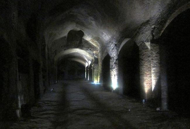 corridoi catacombe di san gennaro
