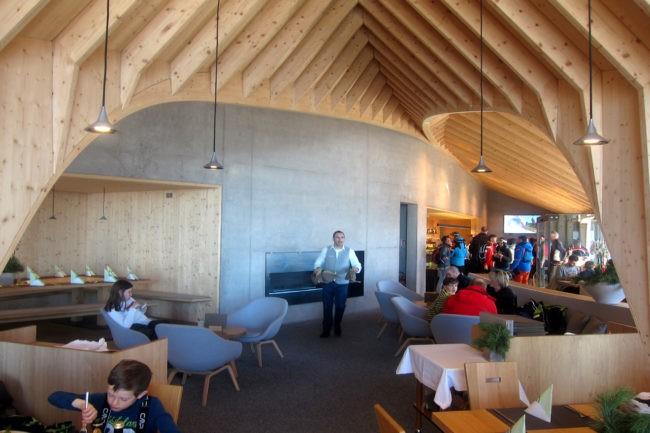 interno ristorante Oberholz