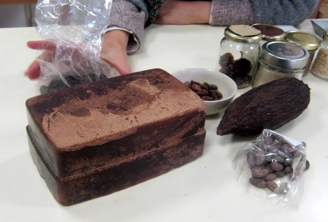 massa di cacao per cioccolato di modica