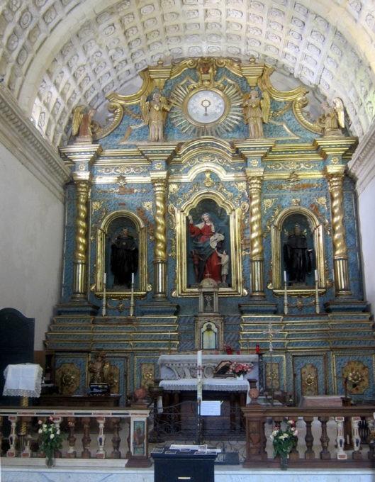 S. Agpstino Cagliari altare maggiore