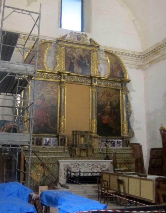 S. Agpstino Cagliari altare laterale