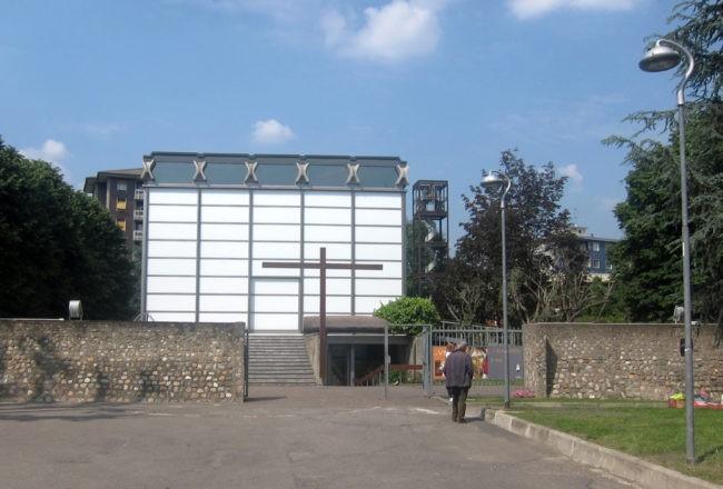 chiesa di vetro di baranzate