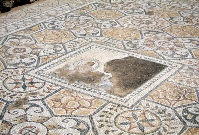 nora particolare mosaico