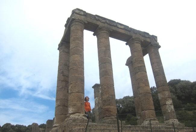 colonne del tempio di Antas
