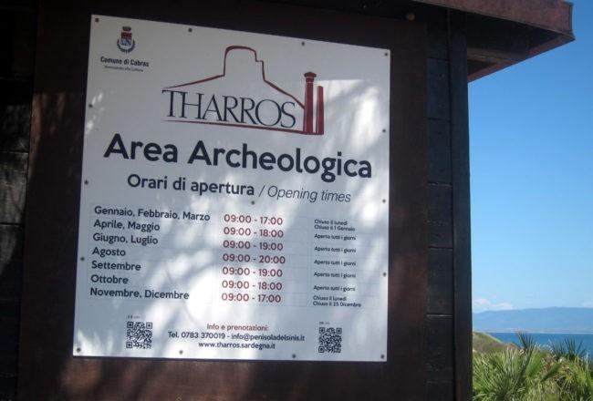 tharros area archeologica
