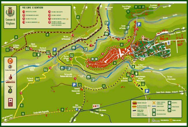 mappa vie cave