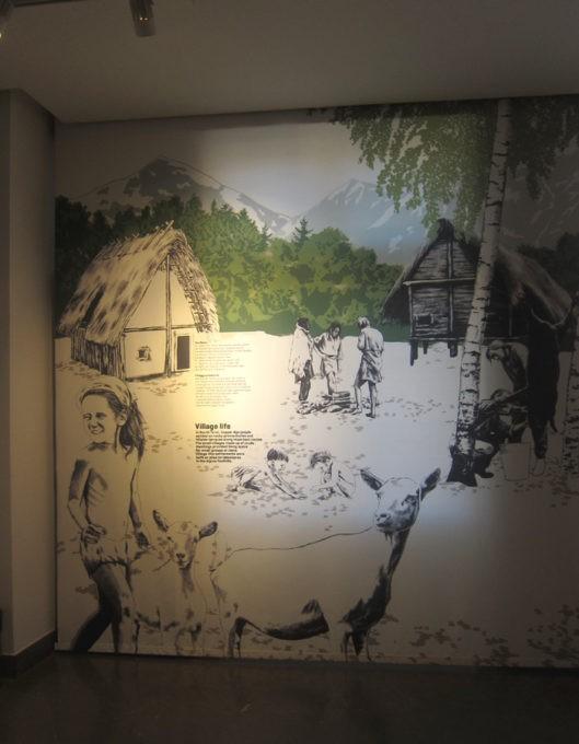 villaggio neolitico museo Otzi bolzano