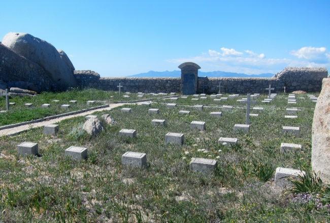 lapidi cimitero isola lavezzi
