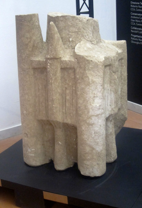 modello di nuraghe complesso museo di cabras