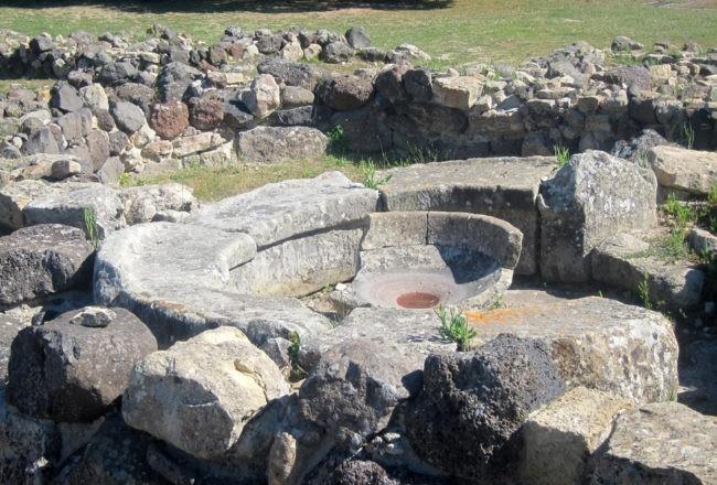 capanna delle assemblee villaggio di su nuraxi