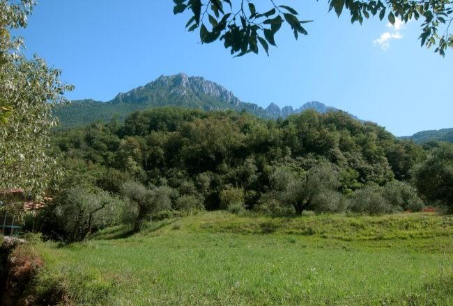 panorama sentiero del viandante