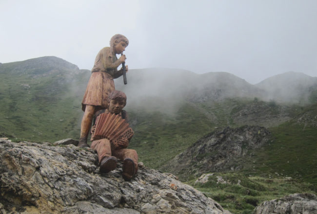 sculture al mont fallere