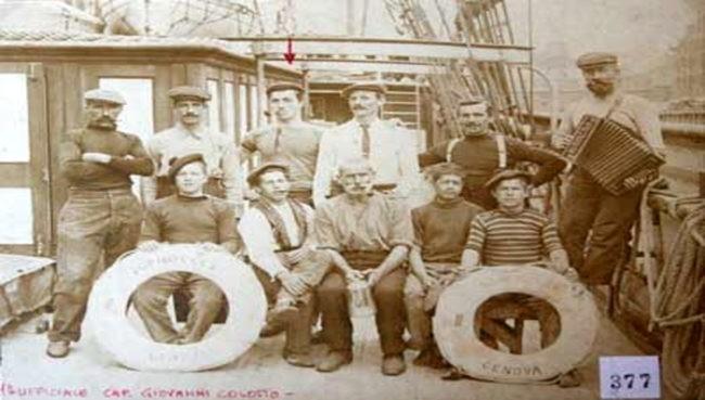 foto di marinai museo marinaro di camogli