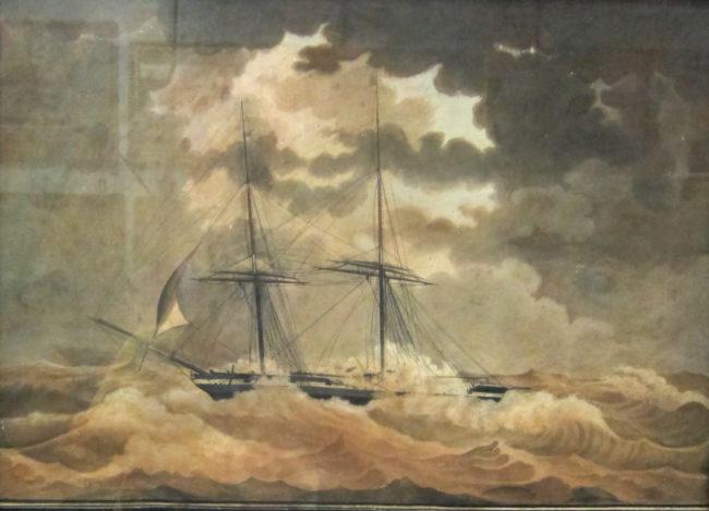 naufragio museo camogli
