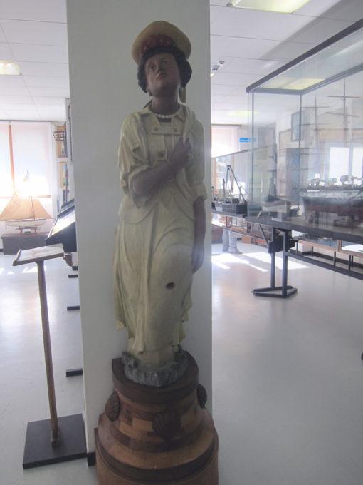 polena al museo marinaro di camogli