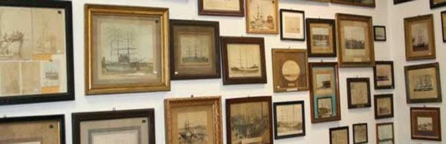 quadri al museo marinaro di camogli