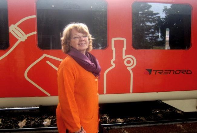 con il treno dei sapori