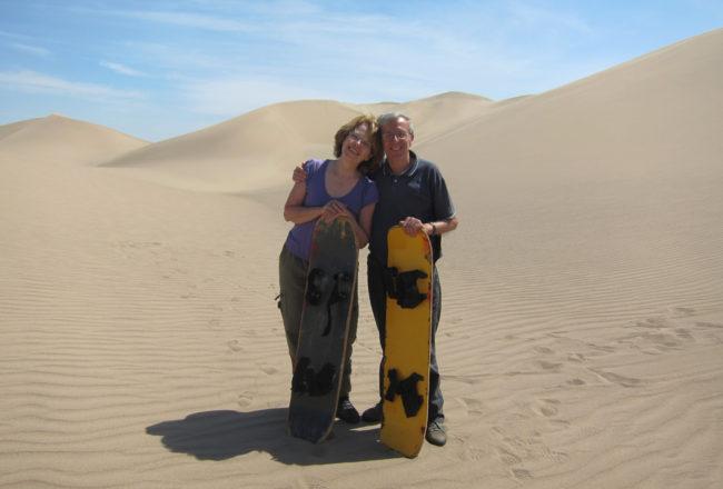 dune del deserto di Ica in Perù