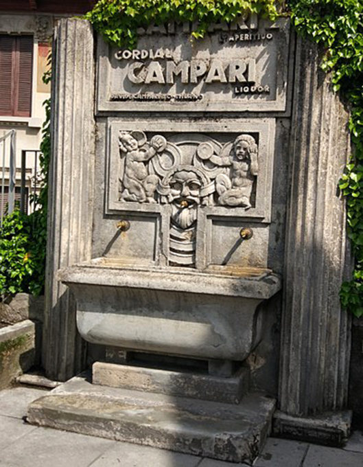 fontana del Campari Brunate