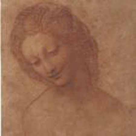leonardo disegno testa di donna