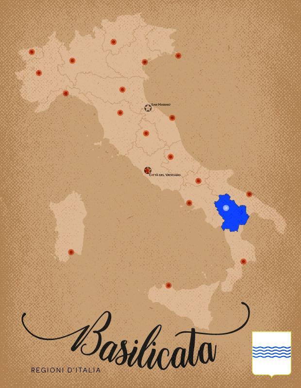 Italia Regioni Basilicata