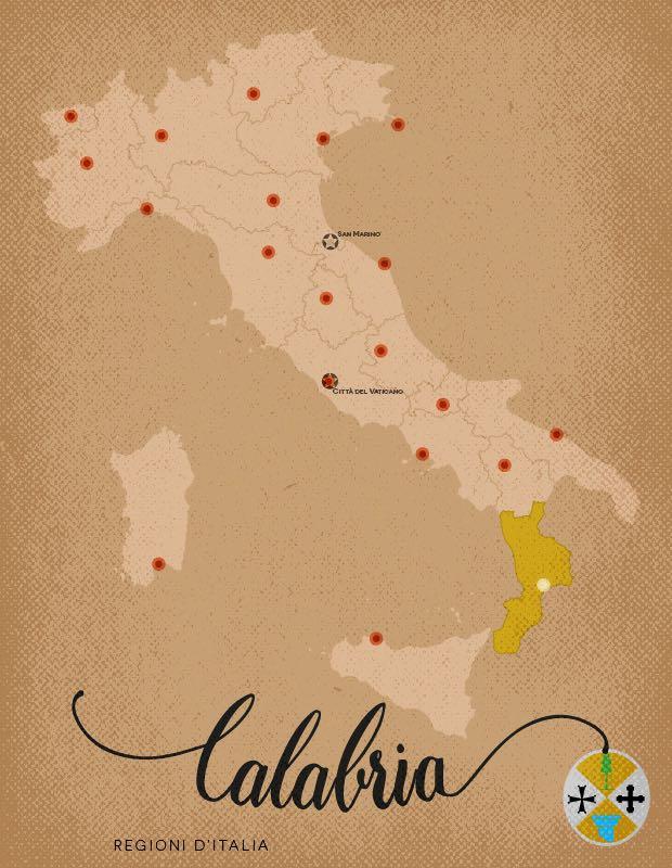 Italia Regioni Calabria