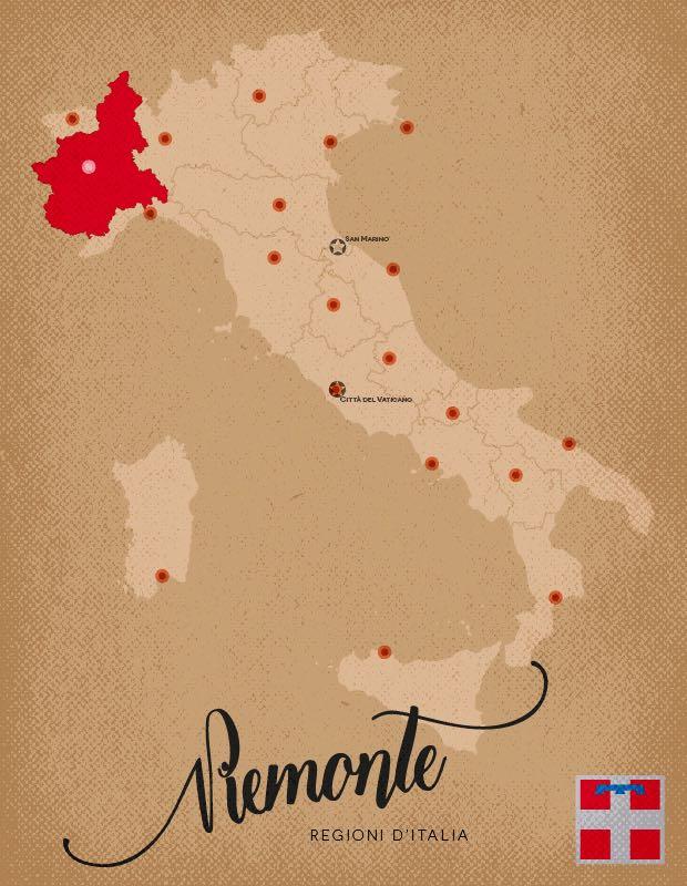 Italia Regioni Piemonte