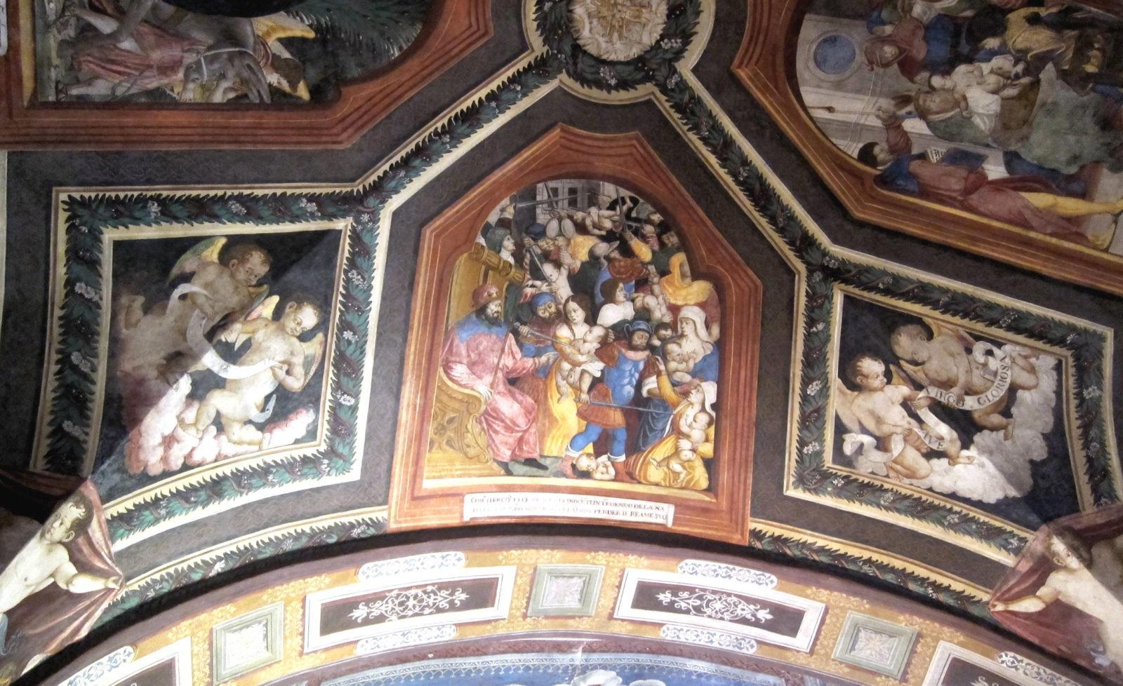 affreschi chiesa di San Gaudenzio di Baceno