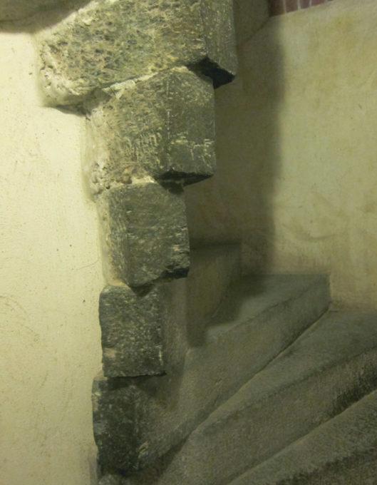 fossano castello scala della torre panoramica