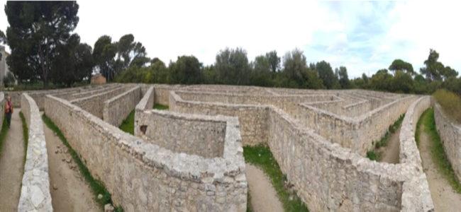 labirinto parco di donnafugata
