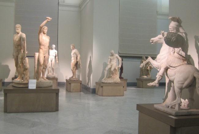 collezione farnese museo archeologico napoli