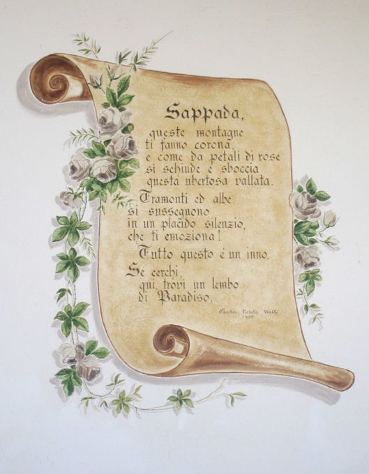 sappada poesia