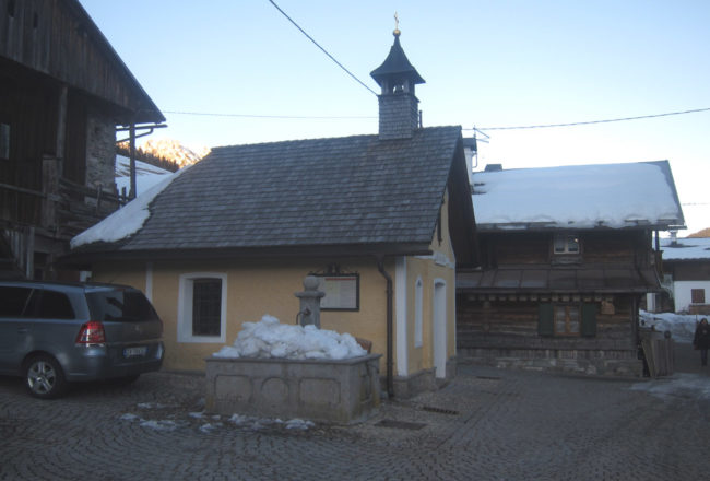 sappada vecchia cappella